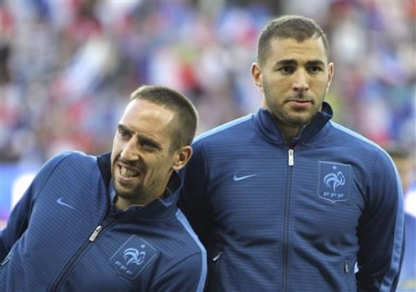 Franck Ribery, Karim Benzema