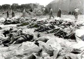 Las masacres de Shaba y Shatila, en Líbano. 1982