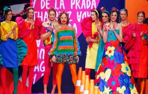 Agatha ruiz de la prada fashion week 2014