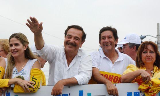 """El alcalde de Guayaquil y candidato a la reelección Jaime Nebot ha dicho que Guayaquil ya decidió que elegirá """"un alcalde que no tenga jefe"""" y reiteró que el próximo domingo ejercerá un control estricto de los votos. API"""