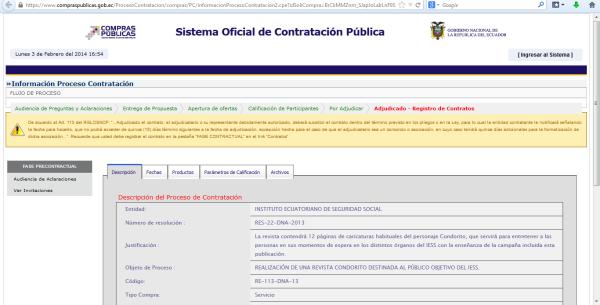 Contrato Condorito