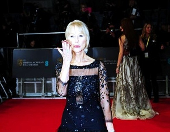 Dame Helen Mirren arrives at the Royal Opera House