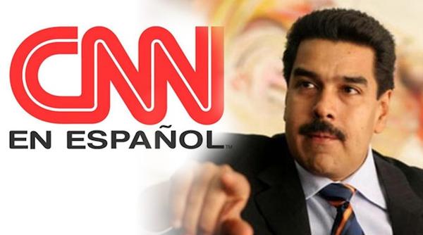 Maduro amenazó a CNN
