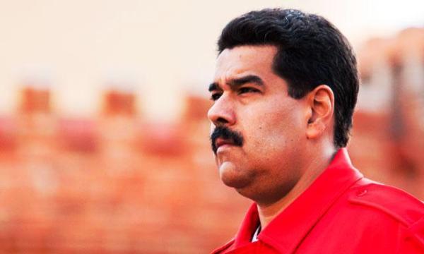 Nicolas Maduro de perfil