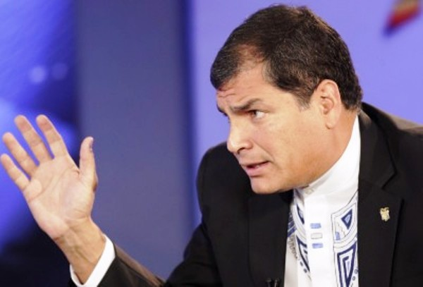 Rafael Correa 1 de febrero