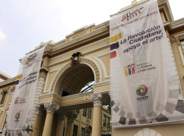 Inauguran universidad de las artes en guayaquil la for Universidad de arte