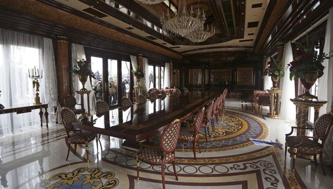 La casa de Viktor Yanukovich
