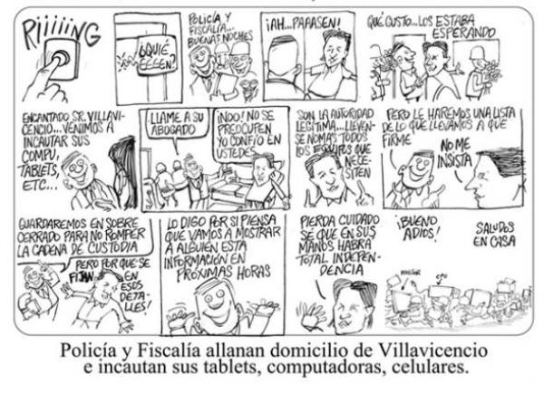 Rectificación de caricatura de Bonil.