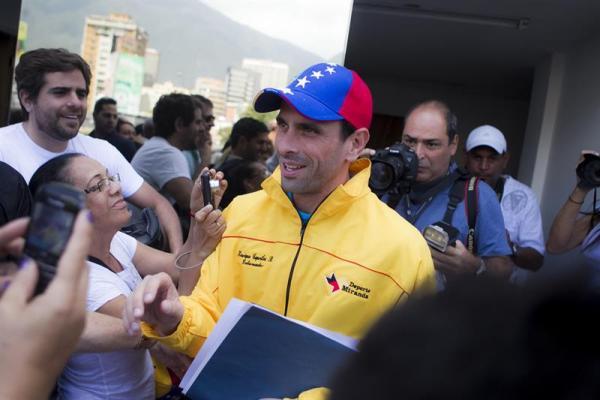 capriles domingo