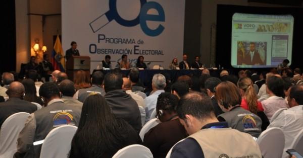 cne observadores electorales
