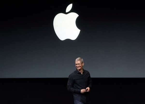Tim Cook, director general de Apple. (Foto AP/Marcio Jose Sanchez, Archivo)