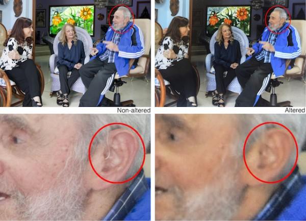 Fidel Castro, Cristina Fernandez, Dalia Soto