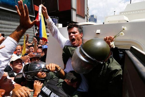 Foto difundida por la agencia Reuters.