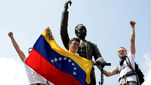 VENEZUELA-POLITICS-OPPOSITION-LOPEZ-SURRENDER