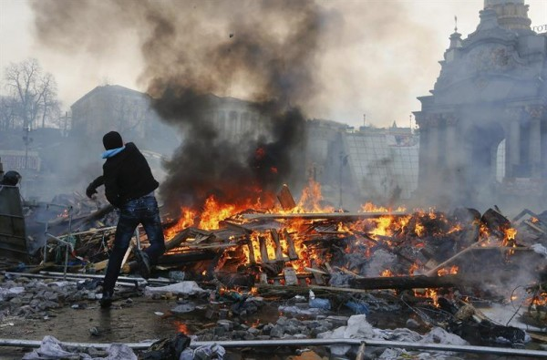 protestas ucrania