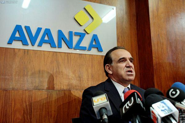 El líder de Avanza, Ramiro González. Foto de Archivo.