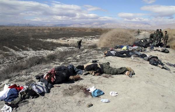 rebeldes muertos siria