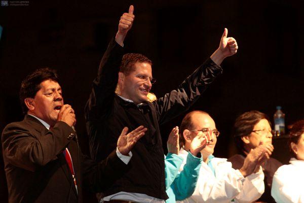 Mauricio Rodas, candidato a la alcaldía de Quito.
