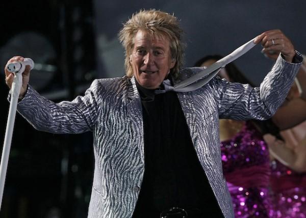 Rod Stewart, músico británico. Foto de Archivo.