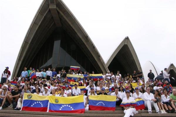 venezolanos australia