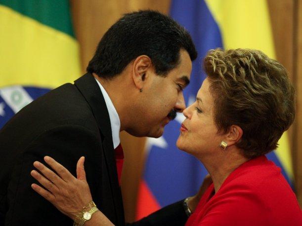 Dilma y Maduro