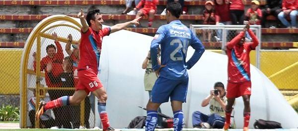 El Nacional superó 2-0 a #Emelec y le quitó el invicto