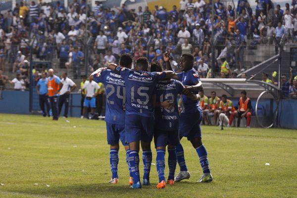 Guayaquil 7 de Marzo del 2014. Emelec vs Manta. Foto: Marcos Pin /API