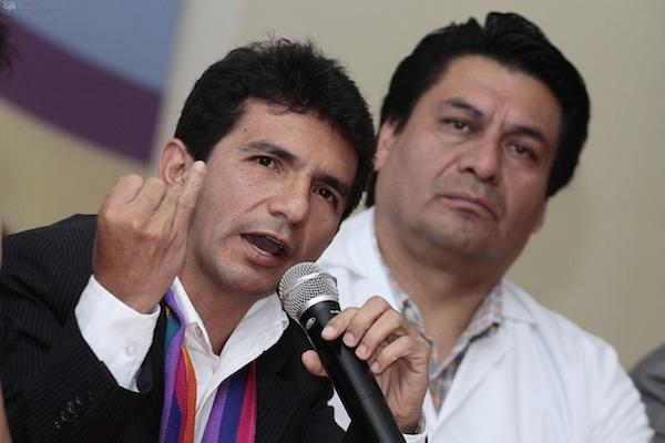 16 de enero de 2014. Cléver Jiménez y Carlos Figueroa.