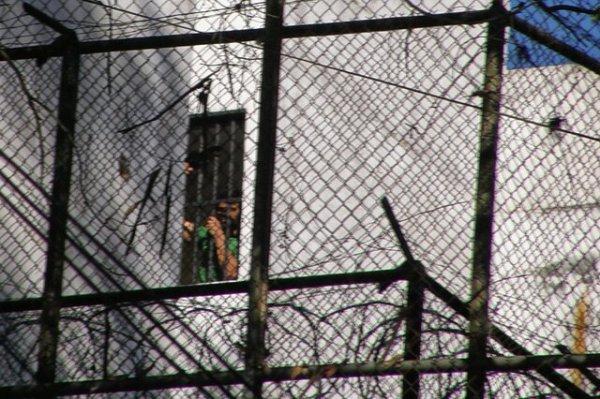 La cárcel de Ramo Verde, en las afueras de Caracas, donde se encuentra recluido Leopoldo López.
