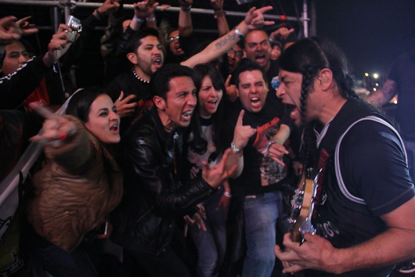 Foto tomada de la web oficial de Metallica