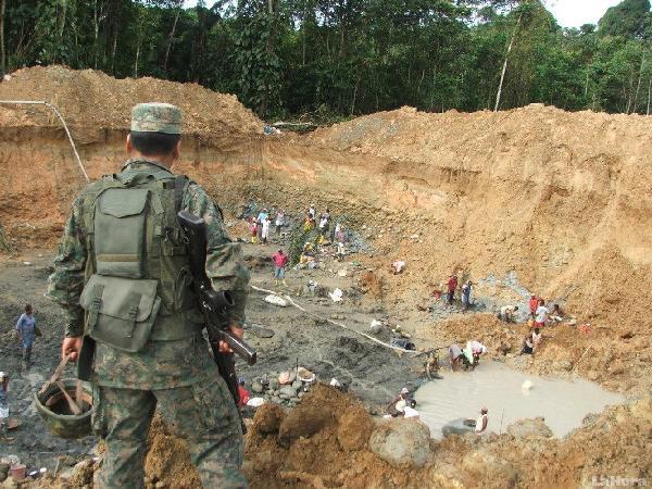 Minería. Foto de Archivo, La República.