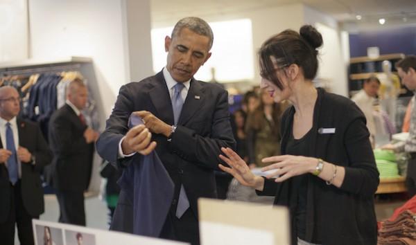 Barack Obama, Susan Panariello.