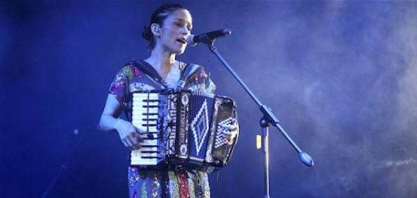 Julieta Venegas. Foto de Archivo, La República.