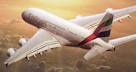 avion emiratos arabes