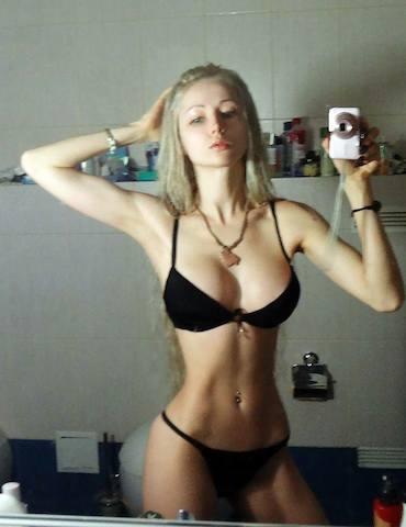 barbie humana selfie