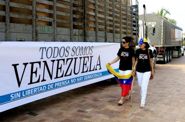 cargamento papel periodicos venezuela