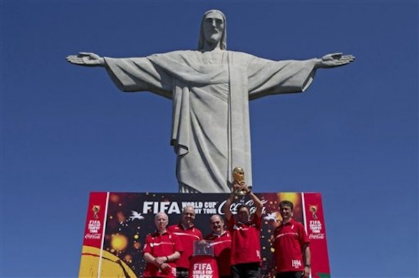 Cristo Redentor de Río de Janeiro. Foto de Archivo.