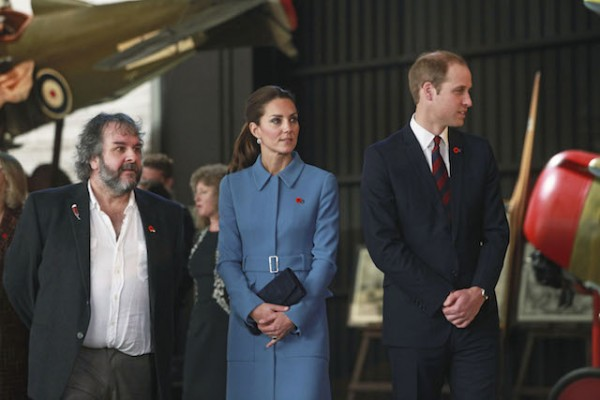 Prince William, Kate, the Duchess of Cambridge, Peter Jackson