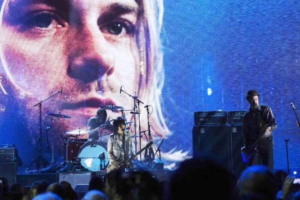 Nirvana homenajeó a Kurt Cobain.