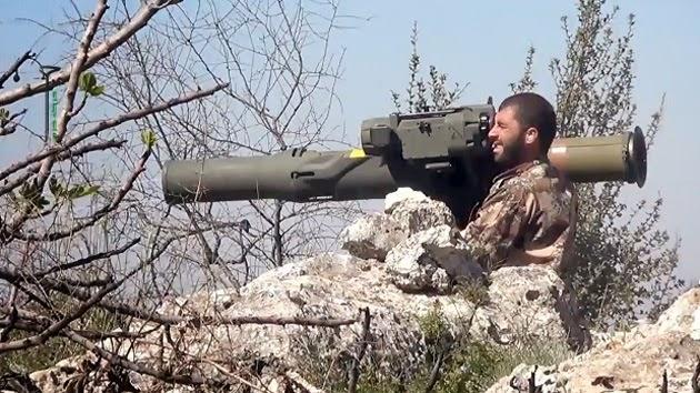 Ejercito de Siria combatiendo rebeldes. Foto de Archivo, La República.