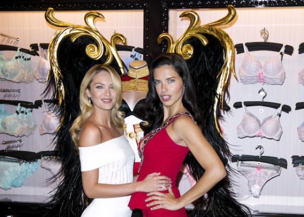 Candice Swanepoel, Adriana Lima