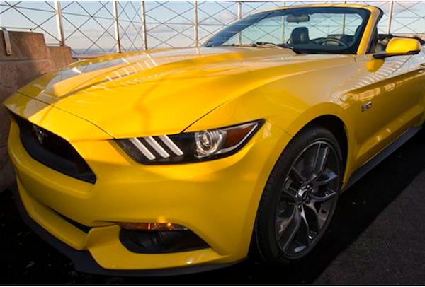 Modelo de automóvil Mustang. Foto de Archivo, La República.