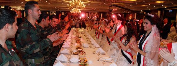 siria boda colectiva
