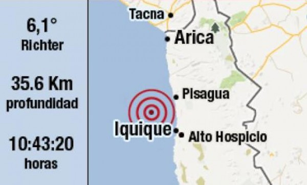 temblor chile