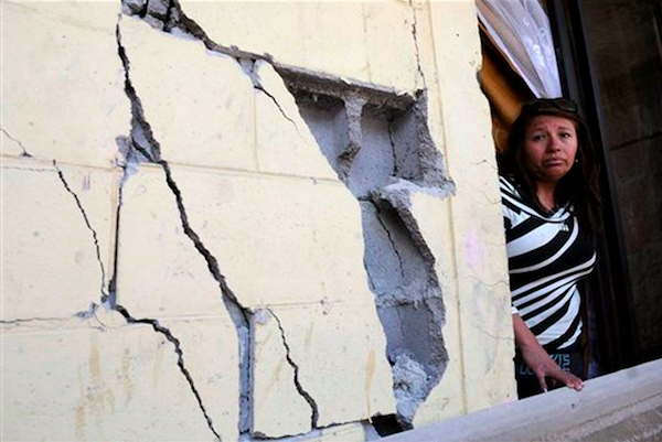 terremoto dos