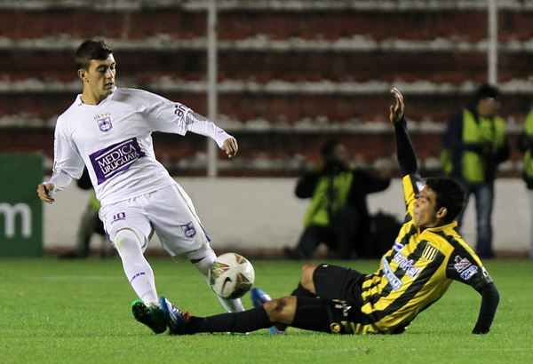 THE STRONGEST VS DEFENSOR SPORTING