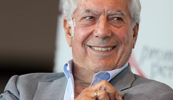 Escritor peruano Mario Vargas Llosa, Nobel de Literatura 2010. Foto de Archivo, La República.