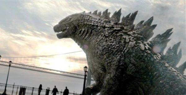 """Imagen sin fecha de la película """"Godzilla"""" de Warner Bros. Pictures. (Foto AP /Warner Bros. Pictures)"""