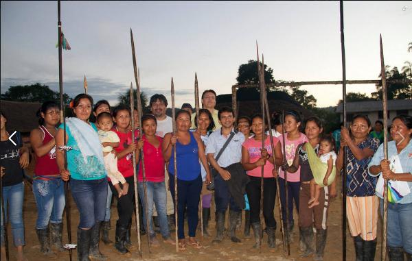 Mujeres Sarayaku