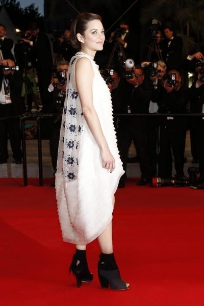 Marion Cotillard en la alfombra roja de Cannes